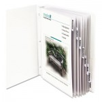 "C-Line Sheet Protectors with Index Tabs, Clear Tabs, 2"", 11 x 8 1/2, 8/ST CLI05587"