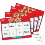 Sight Words Bingo Game T6064