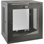 Tripp Lite SmartRack 12U Low-Profile Switch-Depth Wall-Mount Rack Enclosure Cabinet SRW12UG