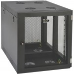 Tripp Lite SmartRack Heavy-Duty Side-Mount Wall-Mount Rack Enclosure Cabinet SRW12UHD