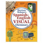 Merriam Webster MER292-5 Spanish-English Visual Dictionary, Paperback, 1152 Pages MER2925