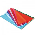 Pacon Spectra Art Tissue, 10 lbs., 20 x 30, 20 Assorted Colors, 20 Sheets/Pack PAC58506