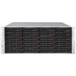 Supermicro SC846BE1C-R1K28B SuperChassis 846BE1C-R1K28B (Black) CSE-846BE1C-R1K28B