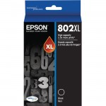 Epson T, Black Ink Cartridge, High-Capacity T802XL120-S
