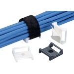 Panduit TAK-TY Hook & Loop Cable Tie Mount ABMT-A-Q20