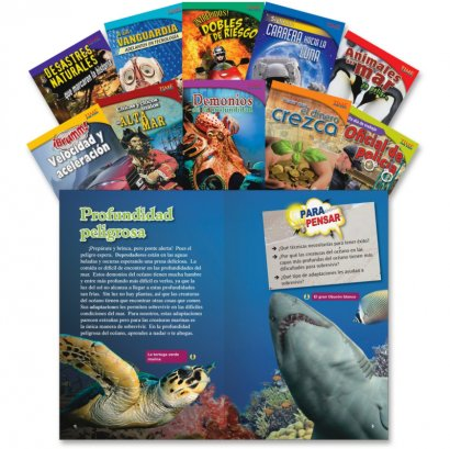 Shell TIME for Kids: Challenging 10 Book Spanish Set 1 18481