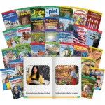 Shell TIME For Kids Informational Text Grade K Readers 30-Book Spanish Set 25857