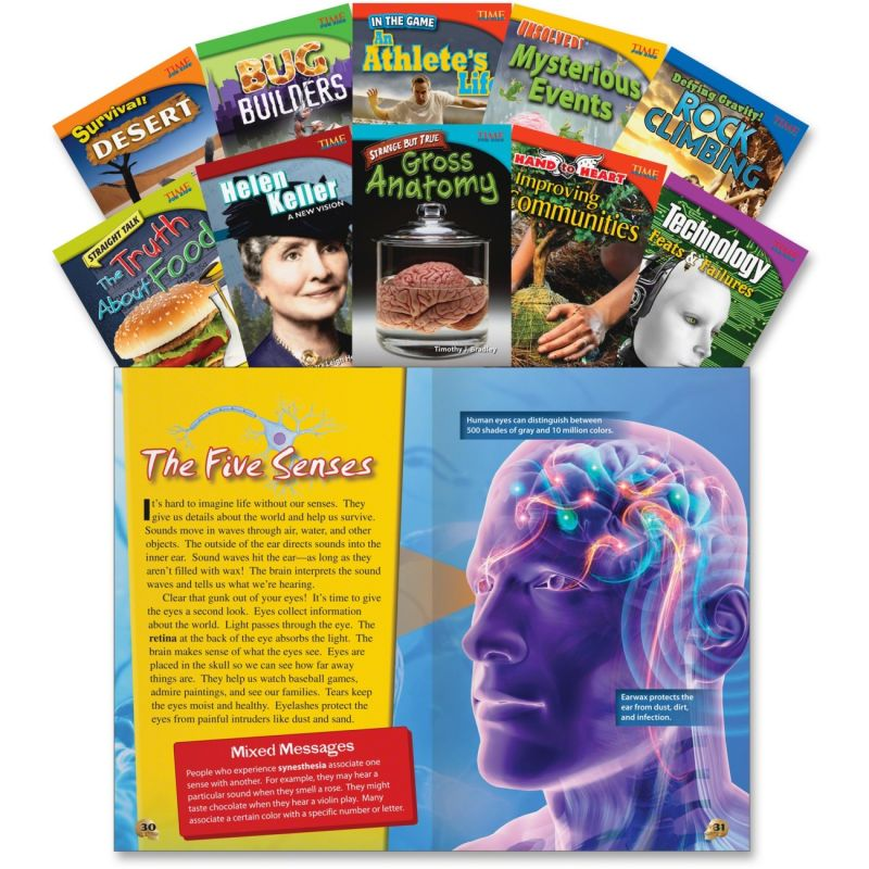 Time Readers For Kids 3-rd Grade Lot Set Of 12 Harcourt Social Studies Magazines