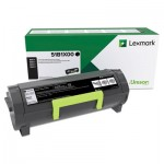 Lexmark Toner, Black, Extra High-Yield LEX51B1X00