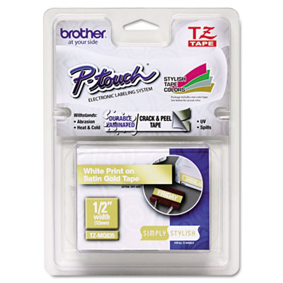 Brother P Touch Tzmq835 Tz Standard Adhesive Laminated