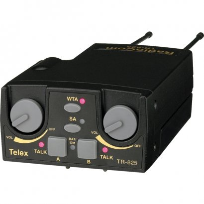 Telex UHF Two-Channel Binaural Wireless Beltpack TR-825-H3R5