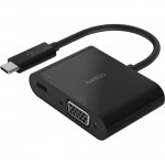 Belkin USB-C to VGA + Charge Adapter AVC001BK-BL