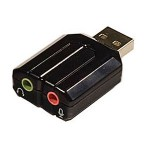 SYBA Multimedia USB Stereo Audio Adapter SD-CM-UAUD