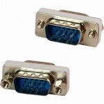 4XEM VGA HD15 Male To Male Gender Changer Adapter 4XVGAMM