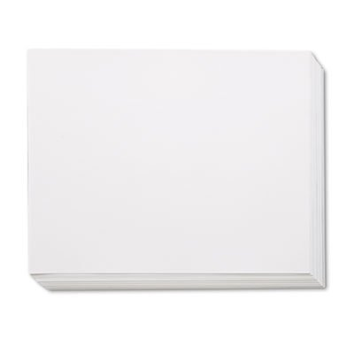 Pacon White Four-Ply Poster Board, 28 x 22, 100/Carton ...