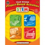 Teacher Created Resources Year Round Project-Based Activities for STEM Grade 1-2 3025