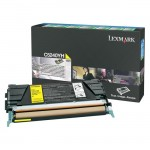 Lexmark Yellow High Yield Return Program Toner Cartridge C5240YH