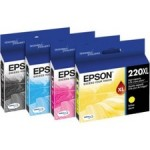 Epson Yellow Ink Cartridge, High Capacity T220XL420-S