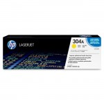 HP Yellow Original LaserJet Toner Cartridge CC532A