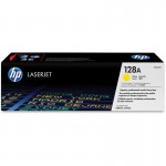 HP 128A Yellow Original LaserJet Toner Cartridge CE322A