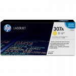 HP 307A Yellow Original LaserJet Toner Cartridge CE742A