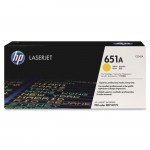 HP Yellow Original LaserJet Toner Cartridge CE342A