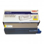 Oki Yellow Toner Cartridge 44318601
